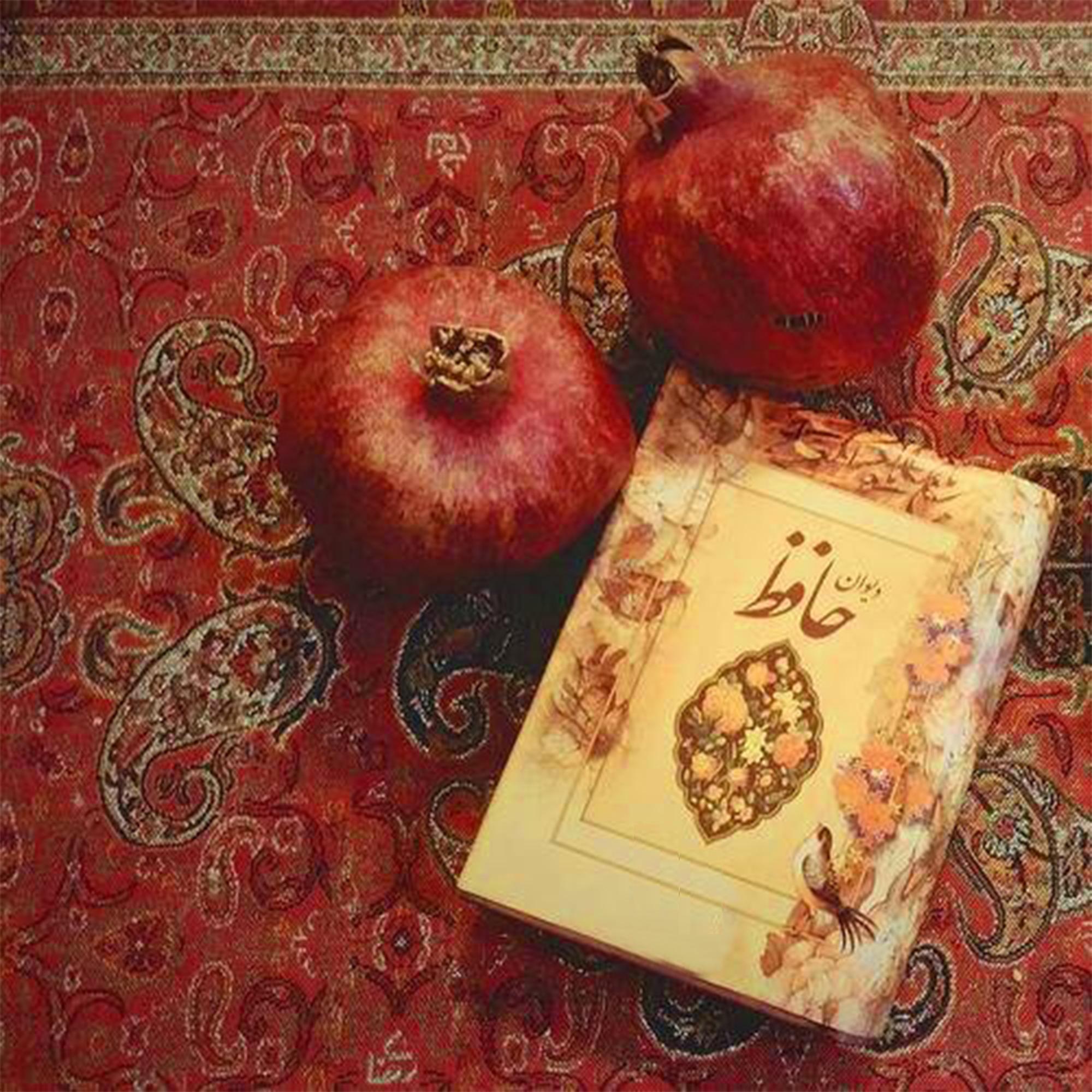 کتاب حافظ و انار در داستان اناری که دلم بود برای تمرین چهارم داستان نویسی